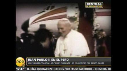 ´El papa se siente charapa´: Cuando Juan Pablo II visitó el Perú