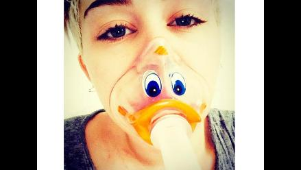 ¡Miley Cyrus abandonó el hospital!