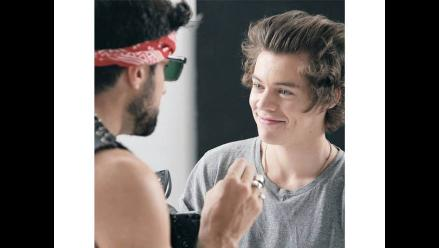 One Direction: Entérate como combate el acné Harry Styles