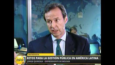 Expresidente Quiroga: Acceso al mar es un derecho inalienable de Bolivia