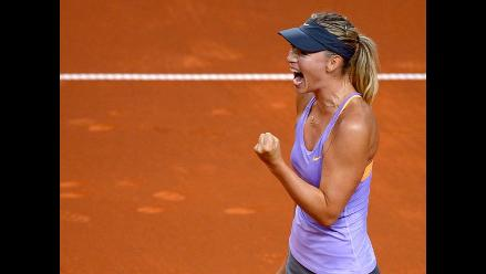 Maria Sharapova se mete a semifinales del Torneo de Stuttgart