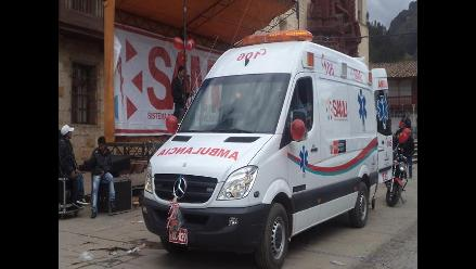 Huancavelica: denuncian uso de ambulancia para otro tipo de fines