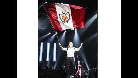 ¡Paul McCartney publicó foto de concierto en Lima!