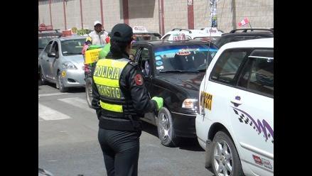 Huancayo: División de tránsito de la policía impuso más de 880 papeletas