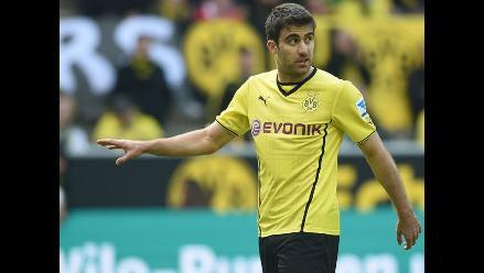 Borussia Dortmund empató 2-2 con Bayer Leverkusen por la Bundesliga
