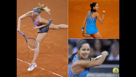 Duelo de bellezas: Sharapova e Ivanovic jugarán la final de Stuttgart