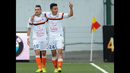 Jean Deza volvió a ser titular en victoria del Montpellier ante Toulouse