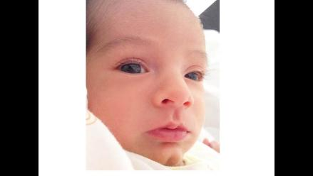 ¡Sully Saénz publicó la primera foto de su hijo!