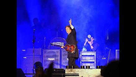 Paul McCartney ofreció deslumbrante actuación en Lima