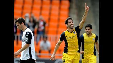 Atlético de Madrid derrota 1-0 a Valencia y se acerca al título