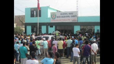Rotan a comisario y al 50% de efectivos policiales de Casma