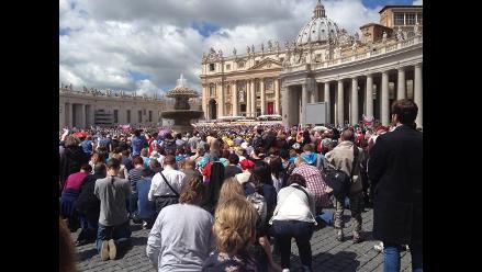 Un día después de canonización, fieles celebran misa de Acción de Gracias