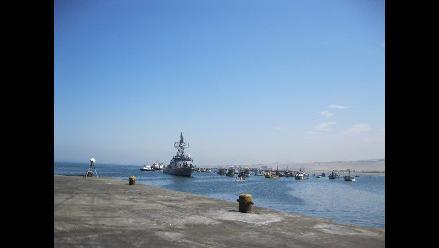 Trujillo: Tres buques varados por fuerte oleaje en Puerto Salaverry