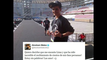 Abraham Mateo: