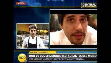Tras ganar premio mundial, chef Virgilio Martínez redobla esfuerzos