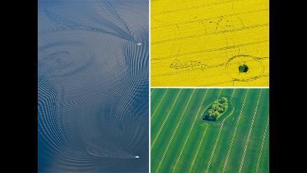 Fotografías aéreas de la naturaleza convertidas en arte