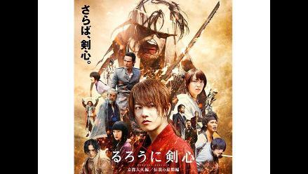 Espectacular nuevo tráiler de película live action de Rurouni Kenshin