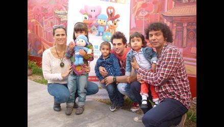 Nicola Porcella se suma a la fiebre de Pocoyó en Lima