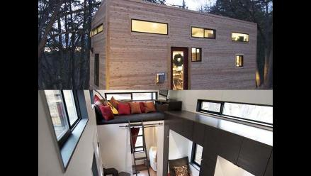 Pareja construyó insólita casa para no pagar hipoteca