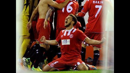 Europa League: Sevilla saca a Valencia de la final al último minuto