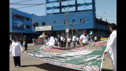 Lambayeque: 600 médicos de EsSalud se sumarán a huelga