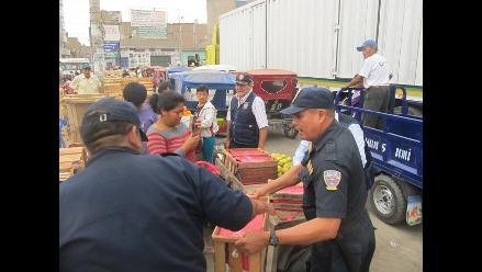 Chiclayo: convocan mesa de diálogo para ver problema de ambulantes