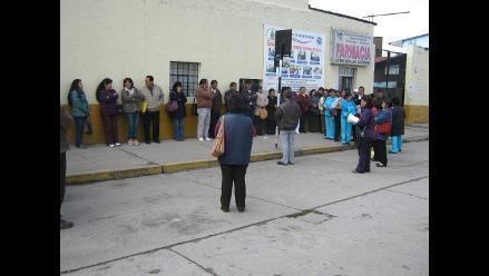 Huancayo: asistenciales se unen al paro médico para el 13 de mayo