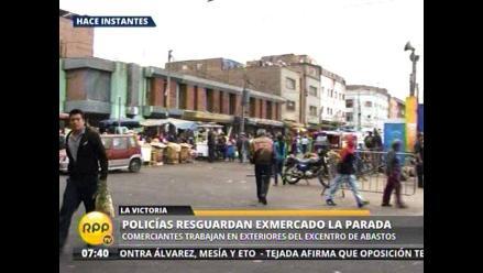 Dirigente de La Parada sigue atrincherada en el ex mercado mayorista