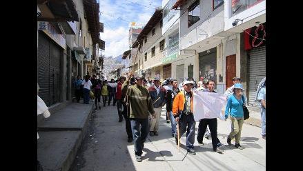 Cajamarca: dirigentes antimineros acuerdan nuevas acciones de protesta