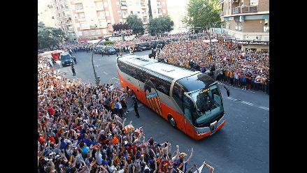 Valencia recibió aliento a pesar de dolorosa eliminación de Europa League