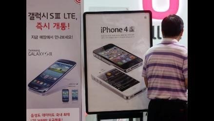 Determinan que Samsung violó patentes de Apple y debe pagar 119,6 millones