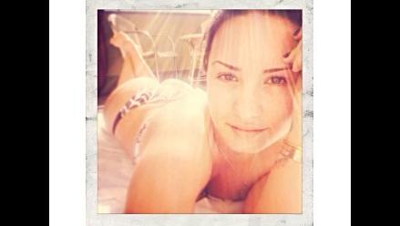 Demi Lovato publicó ´selfie´ en bikini
