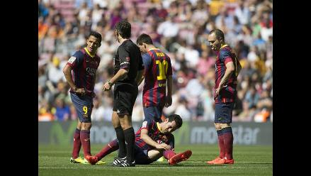 Barcelona empata 2-2 ante Getafe en el Camp Nou y se despide de la Liga