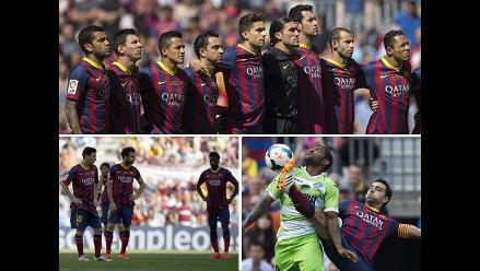 Así se despidió Barcelona de la Liga Española al empatar 2-2 con Getafe