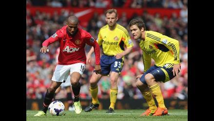 Manchester United cayó 0-1 ante Sunderland en segundo partido de Giggs