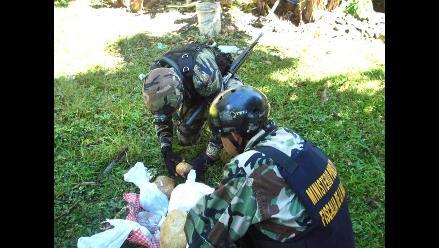 Colombia: Niña transportaba cocaína escondida en balde de mangos
