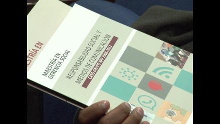 Presentan libro sobre responsabilidad social del GRUPORPP en la PUCP