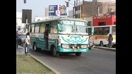 Trujillo: exigen a transportistas respeto y mejor trato a los pasajeros