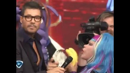 La Tigresa del Oriente participó del show de Marcelo Tinelli