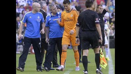 Real Madrid: Lesión de Cristiano Ronaldo no es de gravedad