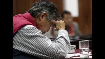Fujimori sufre crisis hipertensiva tras llamado de atención de jueza