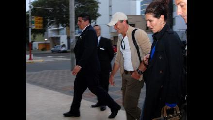 Antonio Banderas ya se encuentra en Lima