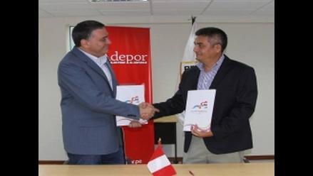 Comité Olímpico y Adepor firman convenio para beneficiar al deportista