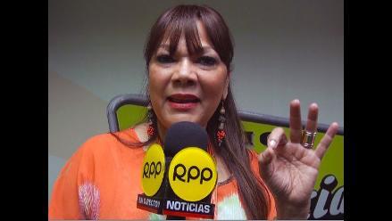 ángela Carrasco Admite Que Le Gustaría Estar En La Tv Peruana Rpp Noticias
