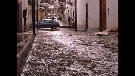 Cajamarca soportó más de nueve horas de persistente lluvia
