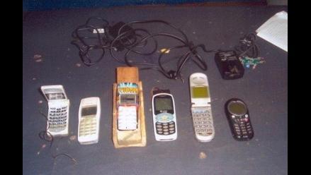 Droga y celulares son los más decomisados en penal de Chiclayo