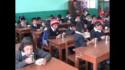 Junín: más de mil escolares no reciben alimentos de Qali Warma