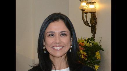 Desde Chile, Nadine Heredia descarta candidatura presidencial el año 2016