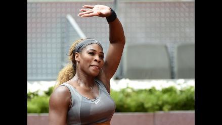 Serena Williams se retira del Masters 1000 de Madrid