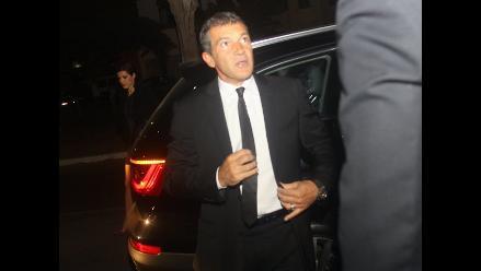 Ofrecen cena privada en honor a Antonio Banderas